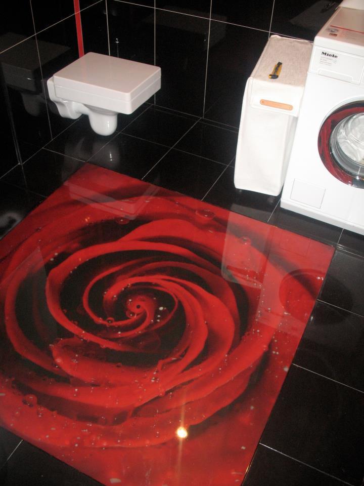 badezimmer 3d boden design. Black Bedroom Furniture Sets. Home Design Ideas