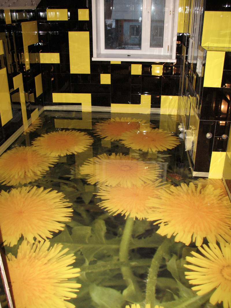 3D Bodenbeschichtung Und Fussboden Mit 3D Bilder Schule